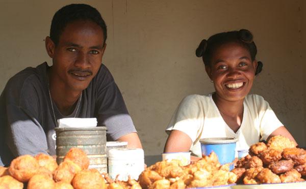 vendeurs beignets