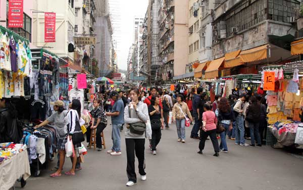 marché de fa yuen street