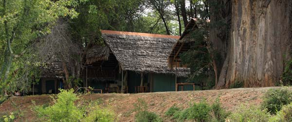 Tentes safai du Tarangire Lodge