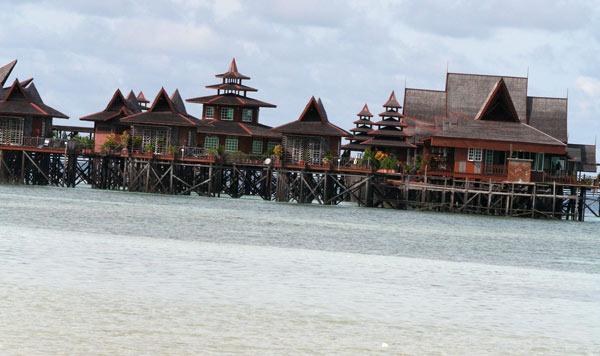 Resort de luxe sur Mabul