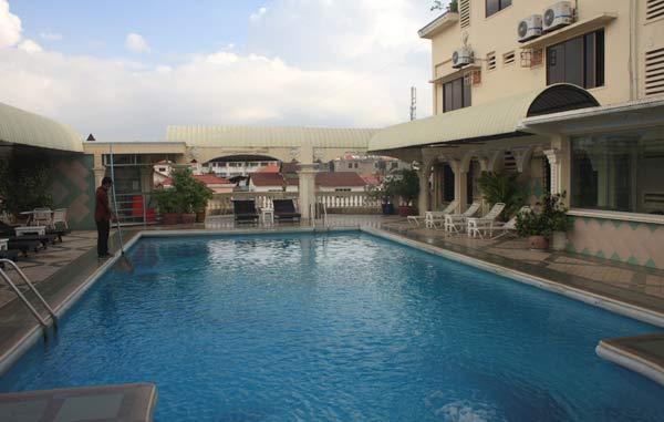 piscine goldiana hotel