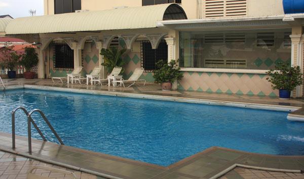 hotel piscine sur le toit