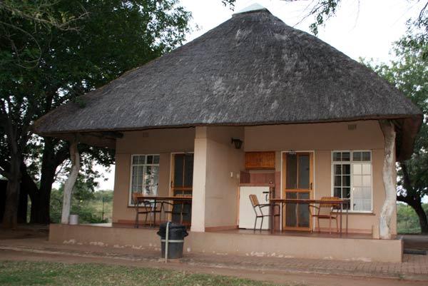 Bungalow du camp Lower Sabie dans le Kruger