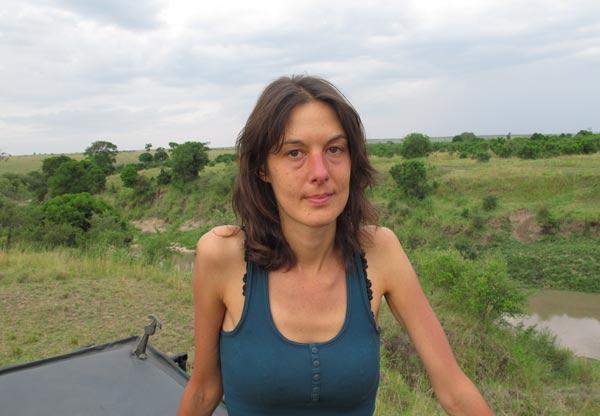 Nathalie après la crise aiguë de paludisme