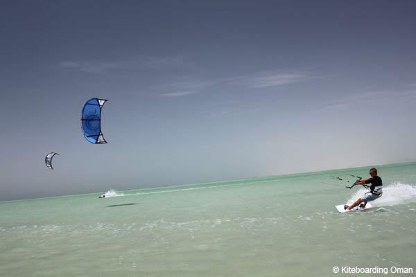 Kitesurf à Oman