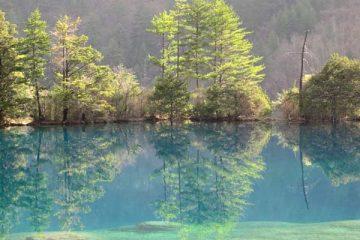 lac miroir jiuzhaigou
