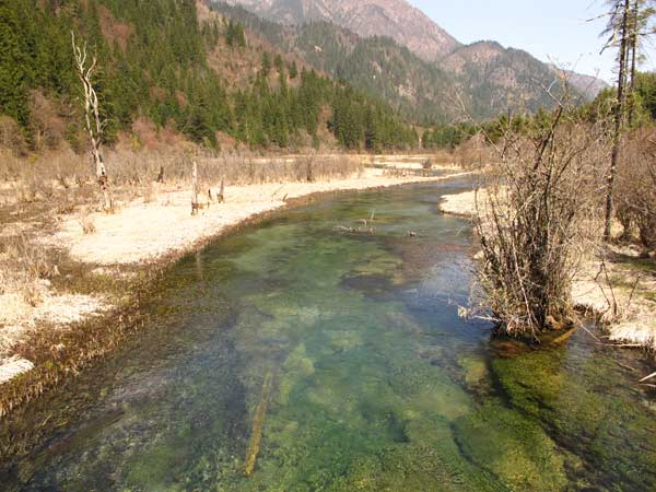 riviere jiuzhaigou