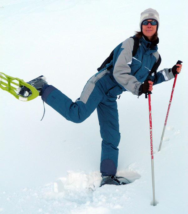 Balade en raquettes à neige côte d'azur
