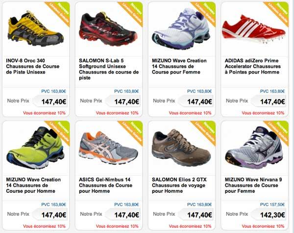 Chaussures course à pied Activinstinct