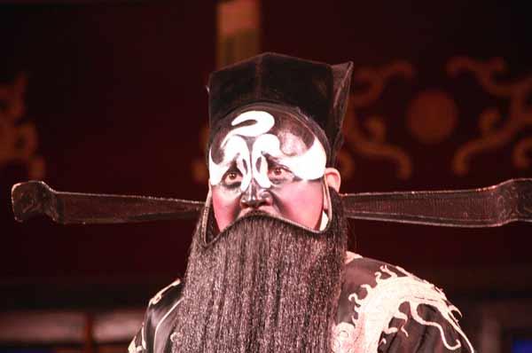 Performance d'artiste à l'opéra du Sichuan
