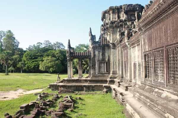 Angkor sous le soleil
