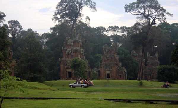 Circulation à Angkor