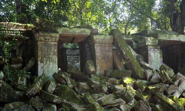 Ruines à Angkor
