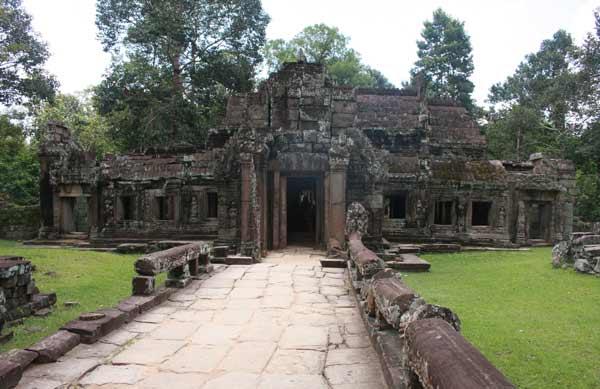 Temple en ruine d'Angkor