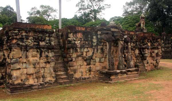 Terrasse des éléphants Angkor