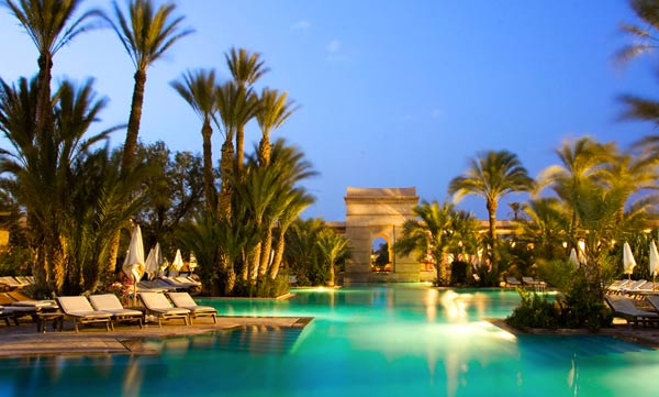 Piscine du Club Med La Palmeraie
