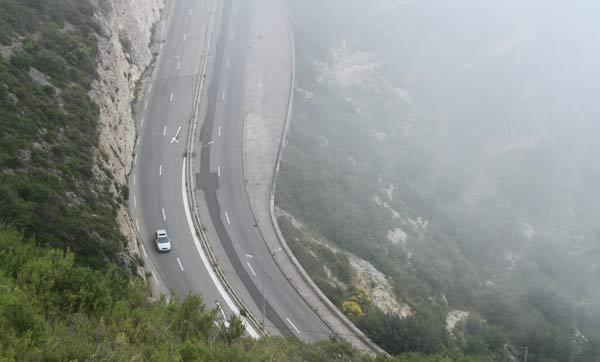 route moyenne corniche