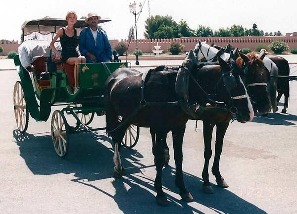 Voyager en calèche à Marrakech