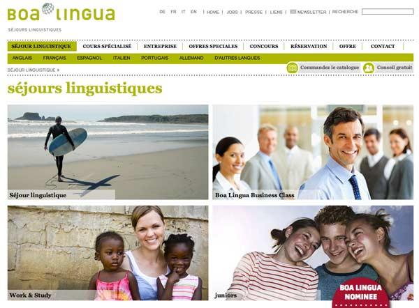 sejours linguistiques boalingua
