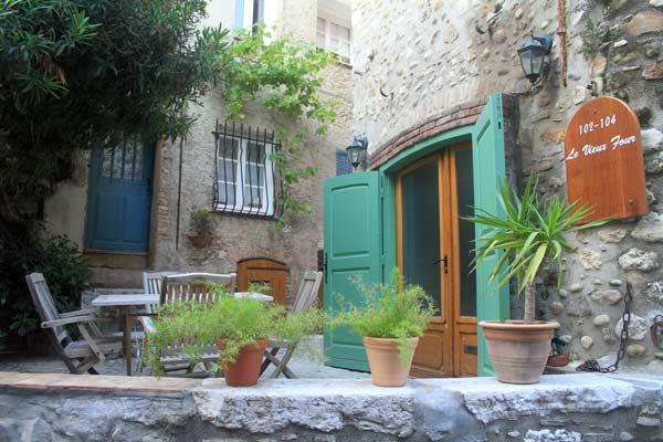 place terrasse village cagnes