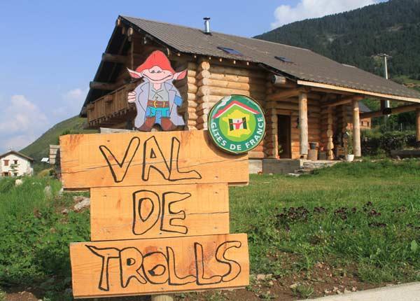 Arrivée au Val de Trolls