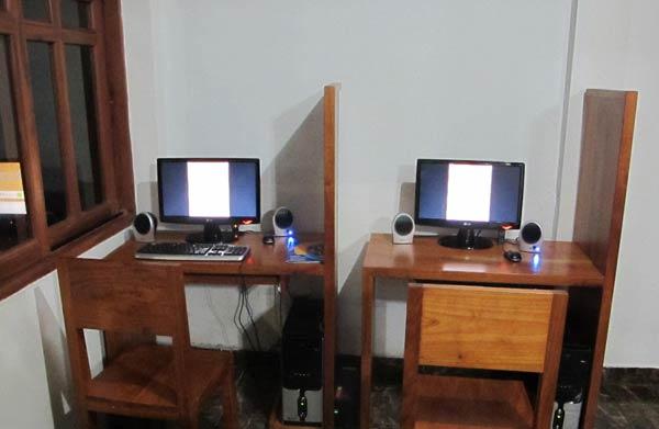 ordinateur internet hotel fiesta