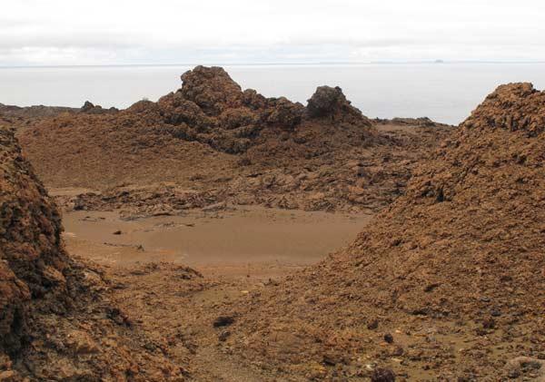 paysage bartolomé galapagos