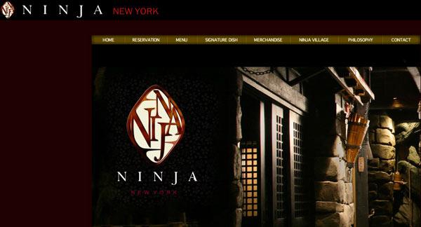 Restaurant à thème samouraïs New York