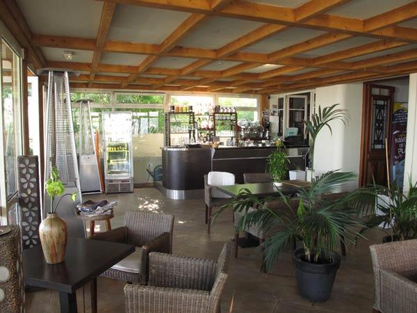 Le bar du Vanille Hôtel