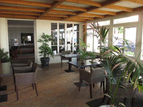 Salon de thé du Vanille Hôtel