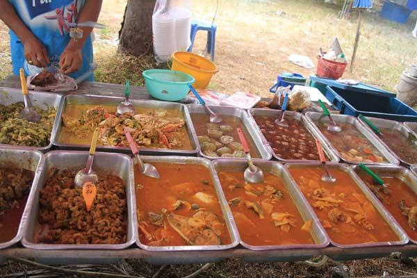 Cuisine locale en Thaïlande