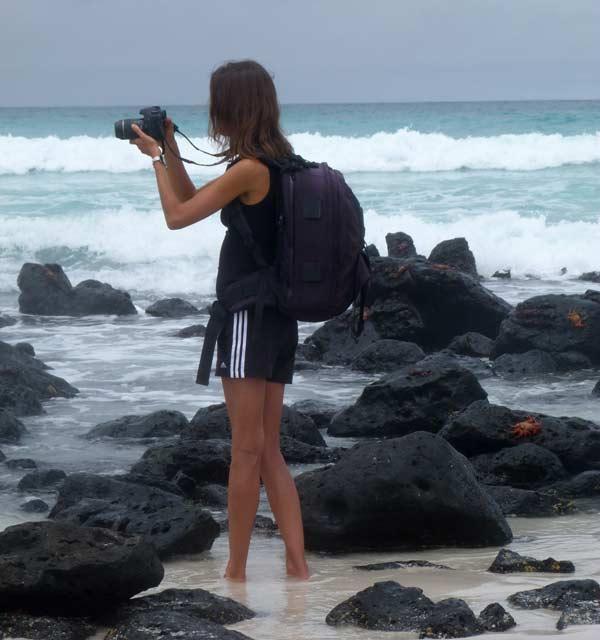 photgraphie aux galapagos