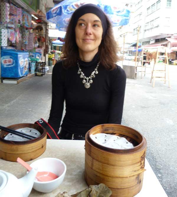 Resto de dim sum à Hong Kong