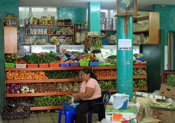 magasin fruits legumes galapagos