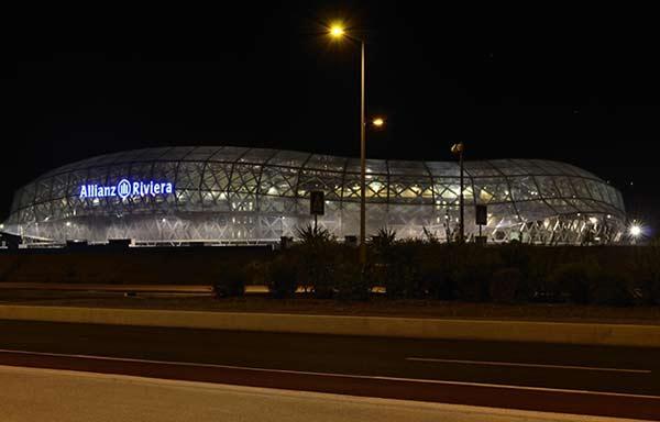 Nice, stade Allianz Riviera