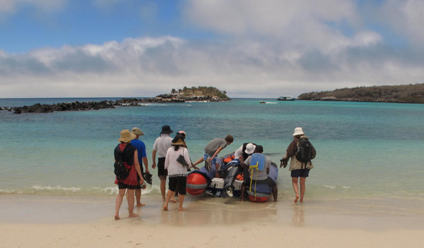Excursion aux Galapagos