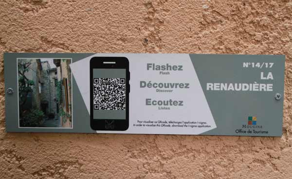 Mougins, flash tag