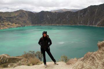 nathalie descente lagune quilotoa
