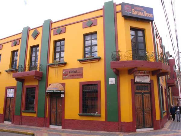 Otavalo, hôtel Riviera Sucre