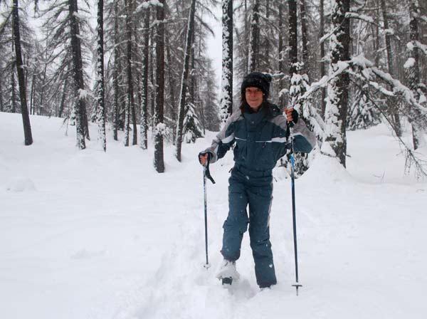 rando raquettes neige saint-dalmas