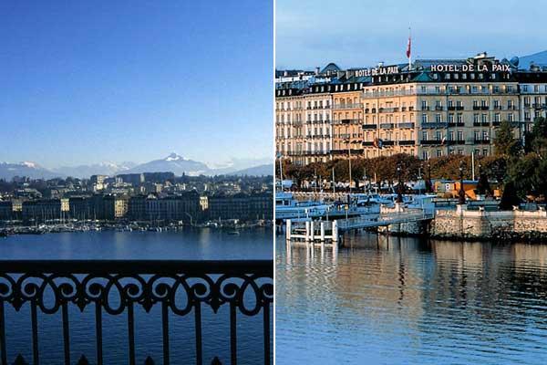 week-end saint-valentin hotel paix geneve