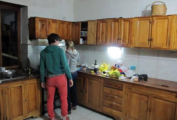 Hôtel Riviera Sucre à Otavalo, cuisine