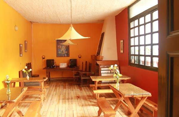 Hôtel Riviera Sucre à Otavalo, salle du petit déjeuner wifi