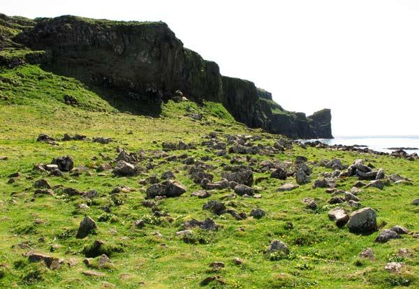 île de Lunga en Ecosse
