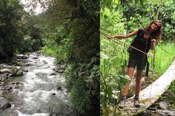 Randonnée à Mindo en Equateur