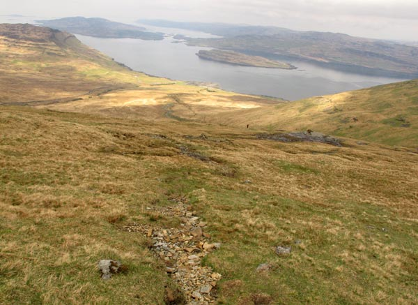 Ile de Mull, ascension Munro