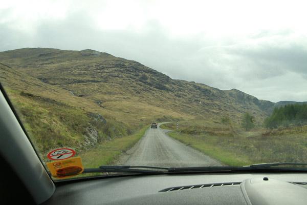 île de Mull sur les routes