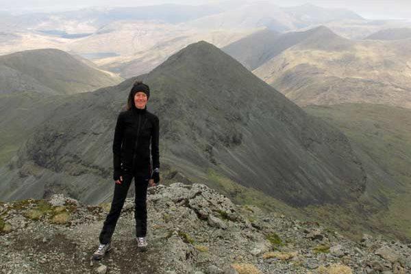 Sommet de mon premier Munro