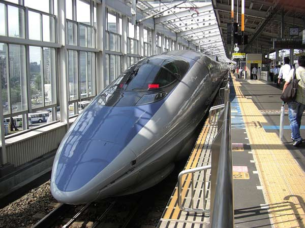 Voyage au Japon, train