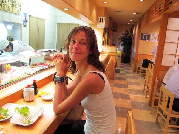 où mnger des sushis à tokyo